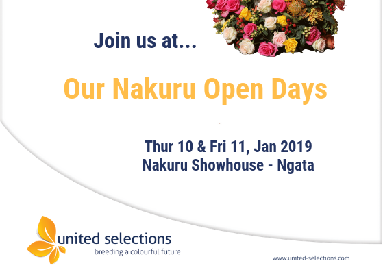 Join us at our Annual Nakuru Open Days 2019