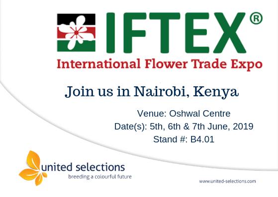 Join us at the IFTEX 2019 in Nairobi, Kenya.