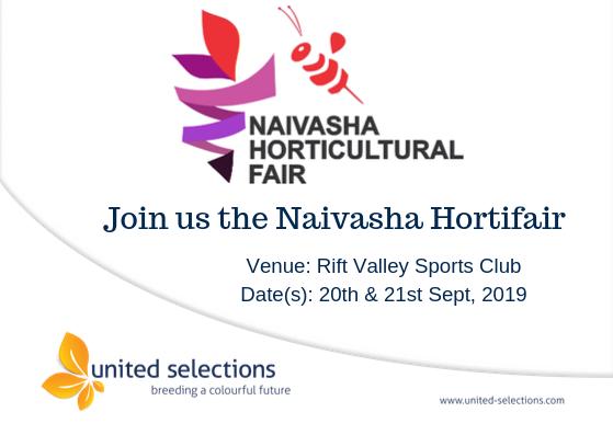Visit us During the Naivasha Horticultural Fair 2019