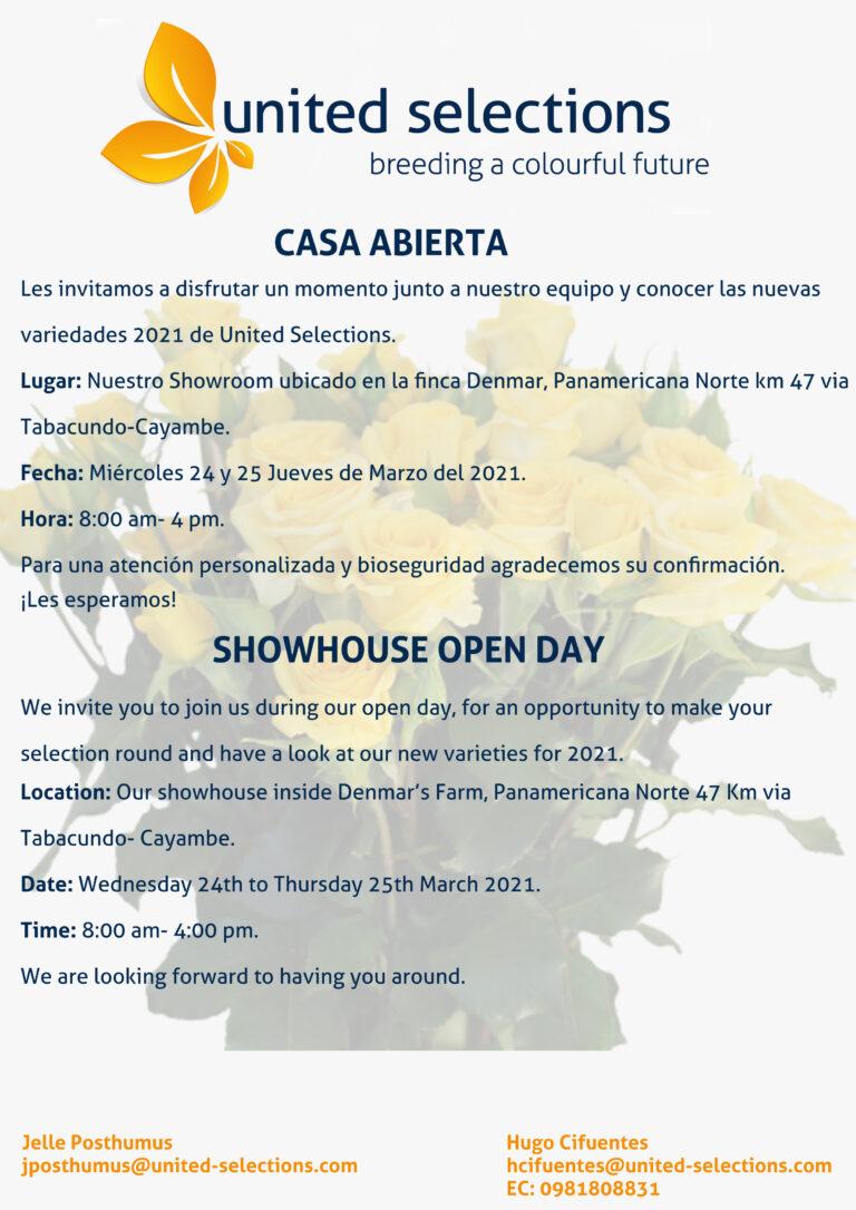 Bienvenidos a nuestra Casa abierta en Denmar-Ecuador.